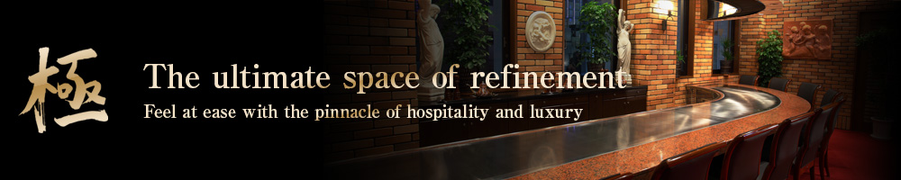 極 Feel at ease with the pinnacle of hospitality and luxury